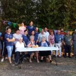 Les membres et bénévoles - repas 2019.