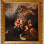 Tableau restauré Vierge-à-l'Enfant-35